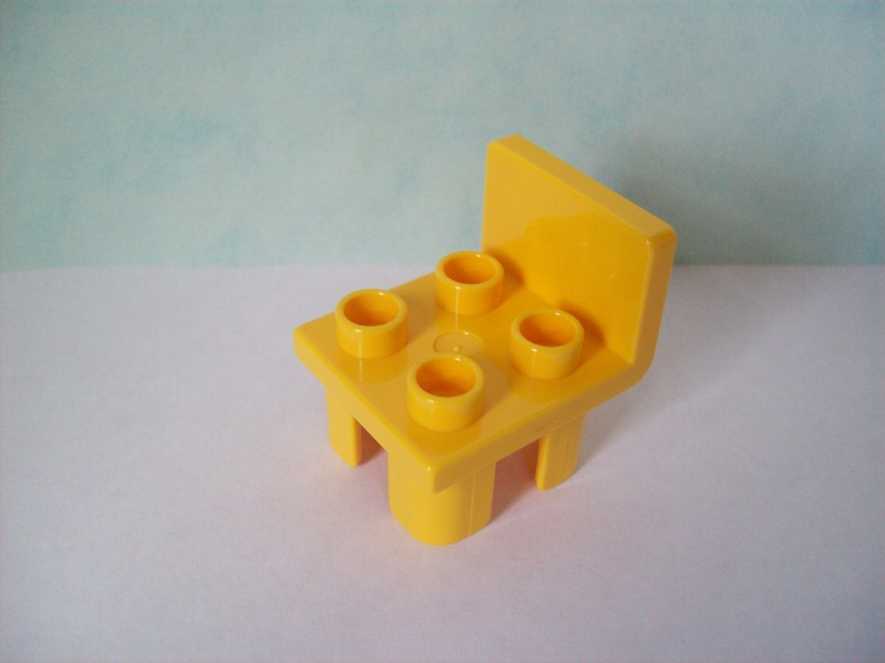 LEGO DUPLO Stuhl Gelb Stonebrick