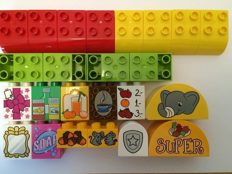 Duplo Weihnachten.Lego Duplo 24 Stück Bausteine Motivsteine Für Adventskalender Weihnachten Ostern Neu