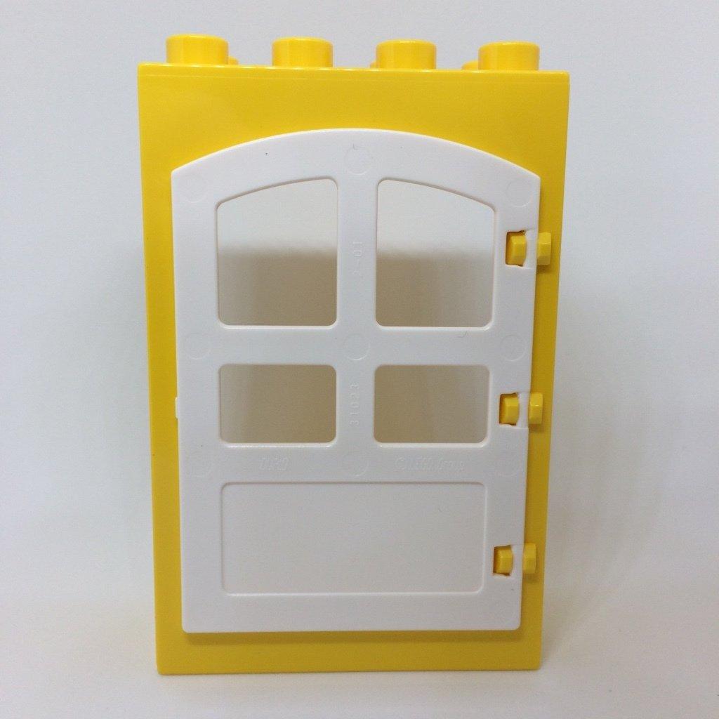 lego duplo 10835 familienhaus spielhaus t r gelb gebogen. Black Bedroom Furniture Sets. Home Design Ideas