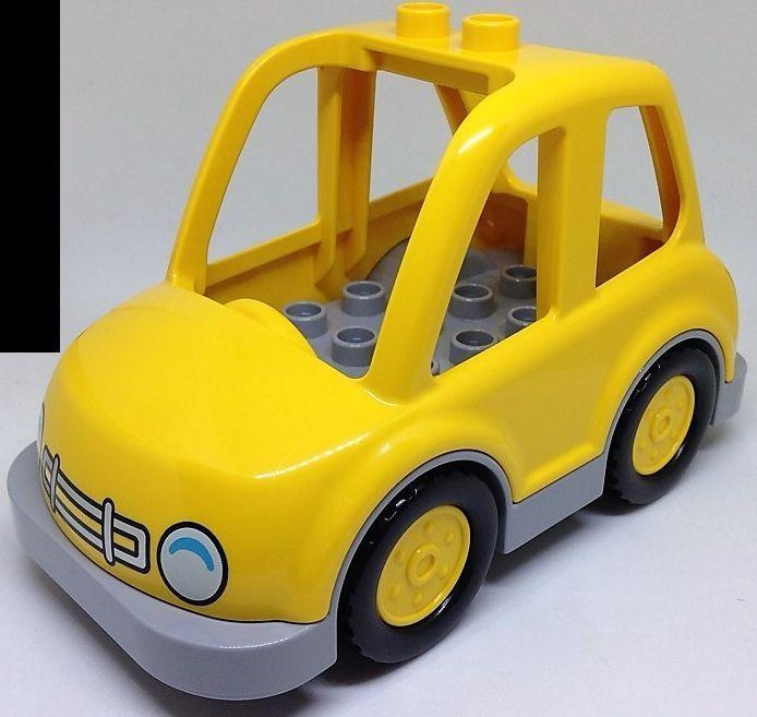 Fenster Motivstein Auto Fahrzeug Baustein Lego Duplo grün