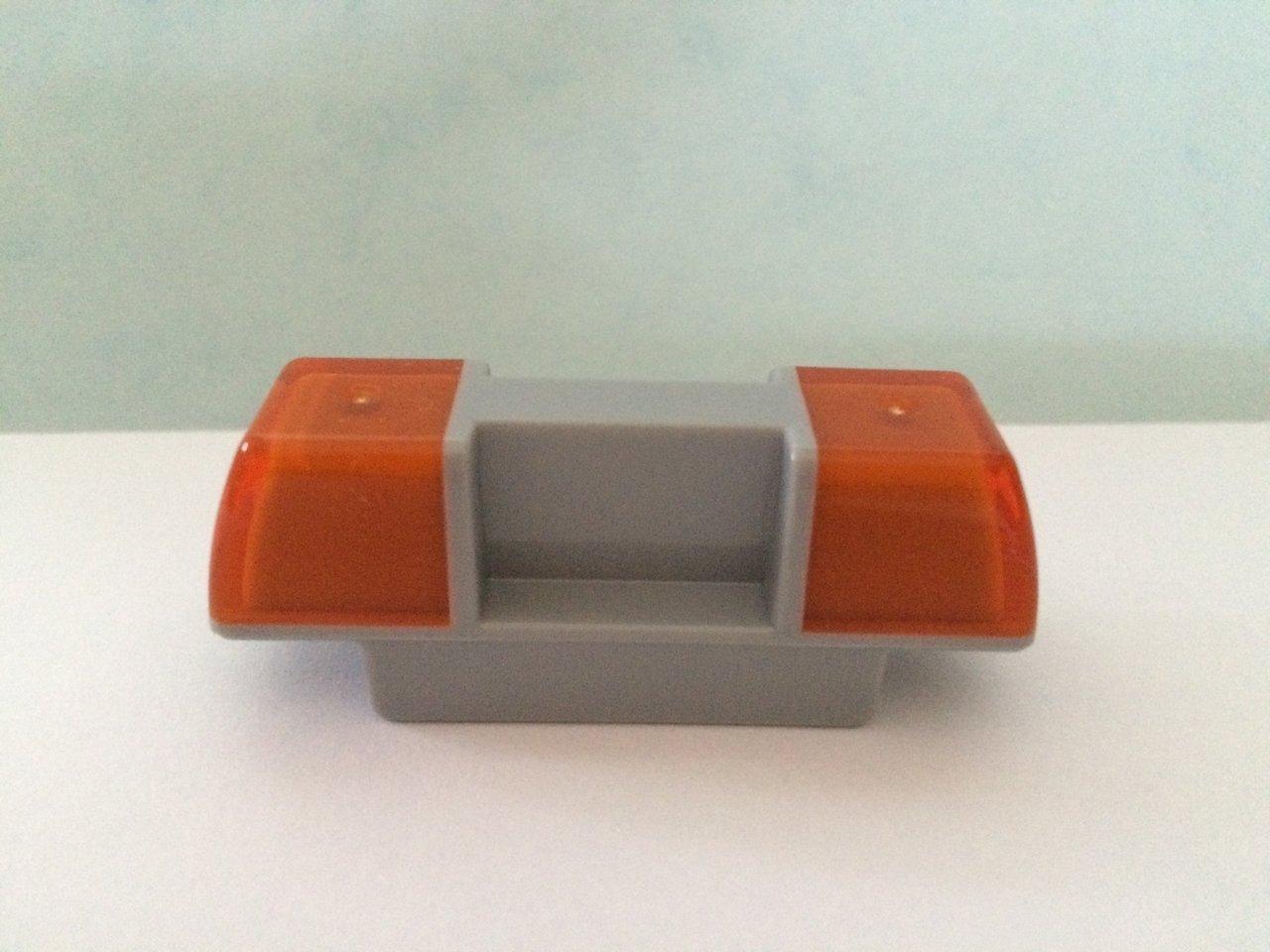 orange Lego Duplo Sirene Baustelle