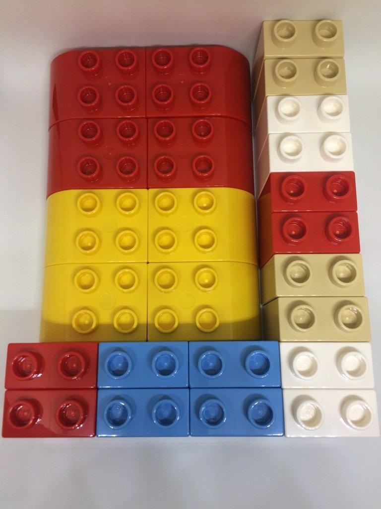 Lego duplo 24 bausteine f r ostern adventskalender neu - Adventskalender duplo ...