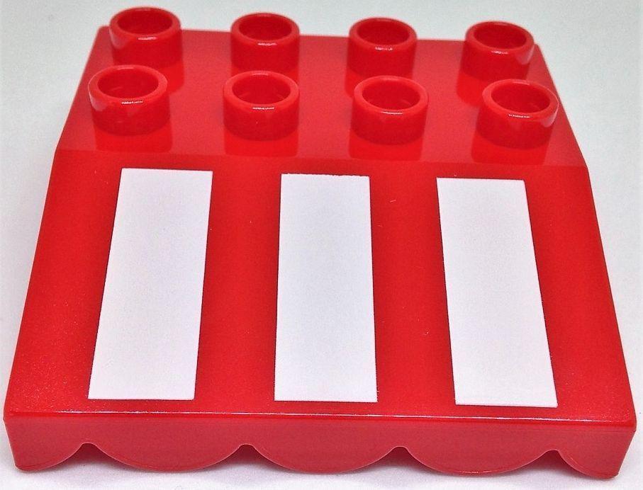 LEGO Bausteine & Bauzubehör LEGO DUPLO Markise Markisenstein Dachstein türkis medium azur 4x4 Noppen NEU
